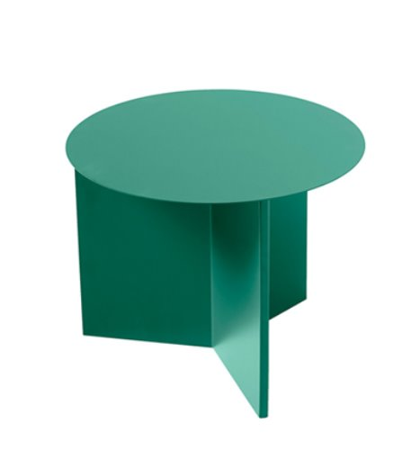 [Used Stuff] HAY Slit Table, Round Green