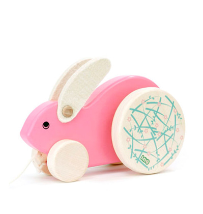 Bajo Rabbit Pink 바조 토끼