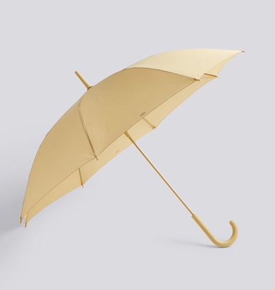 HAY Mono Umbrella Warm yellow