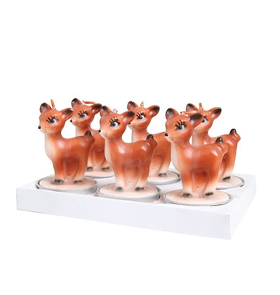 &KLEVERING Candle Bambi 6 pack