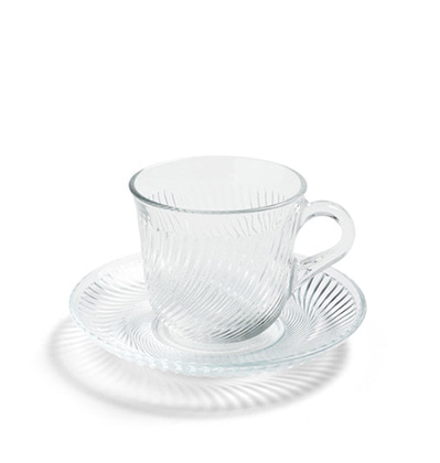 헤이 피루엣 커피 컵&소서 HAY Pirouette Coffee Cup With Saucer