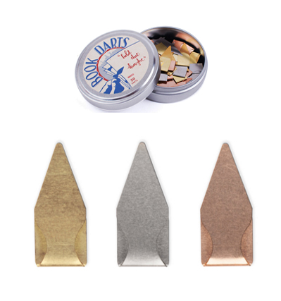 Book Darts 50 Count Tin Mixed