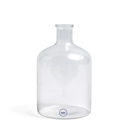 HAY Turkish Cylinder Glass Bottle Clear 헤이 실린더 유리병