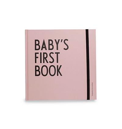 Design Letters Baby's First Book girl 디자인레터스 아기 앨범