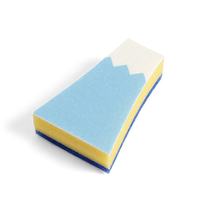 HAY Mount Fuji Sponge Light Blue 헤이 주방스펀지