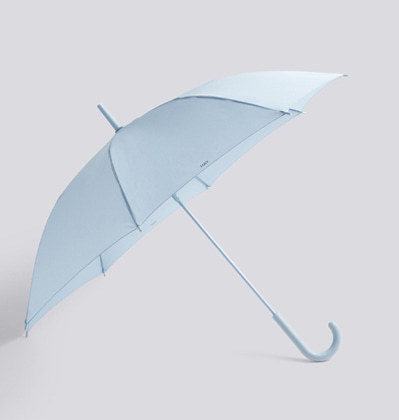 헤이우산 라이트블루 HAY Mono Umbrella Light blue