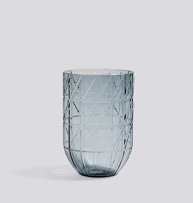 HAY Colour Vase L Blue
