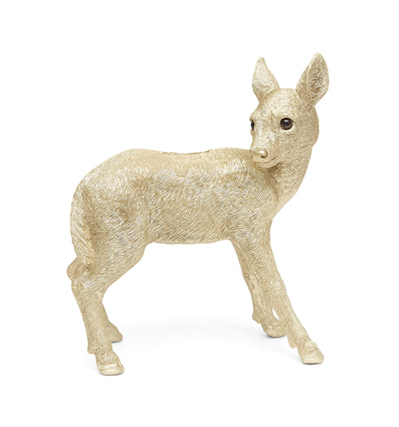 &KLEVERING Coinbank Deer Gold