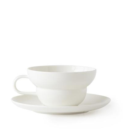 Acme Bibby Tea Cup & Saucer White