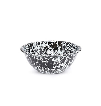 크로우캐년홈 샐러드 보울 CrowCanyonHome Salad Bowl Black Marble