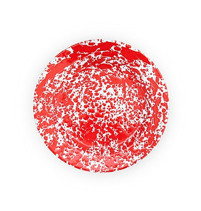 크로우캐년홈 디너 플레이트 CrowCanyonHome Dinner Plate Red Marble