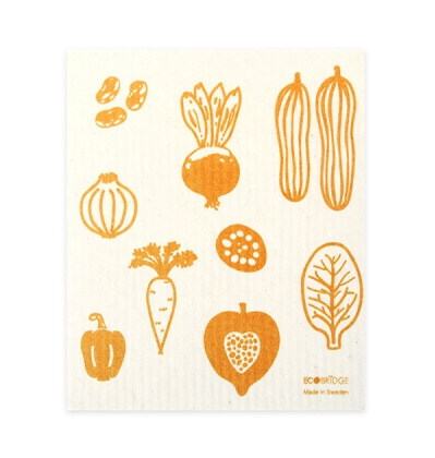 Ecobridge Vegetable Dishcloth 스웨덴 행주