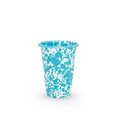 CrowCanyonHome Tumbler Turquoise Marble