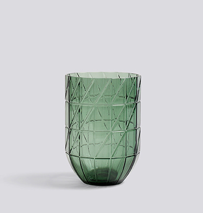 HAY Colour Vase L Green