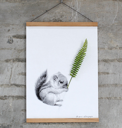[Scratch] Flower Pocket Squirrel B3