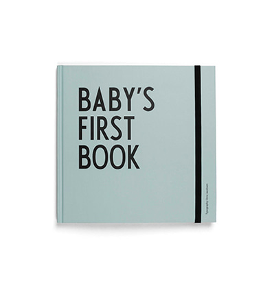디자인레터스 아기 앨범 Design Letters Baby's First Book boy