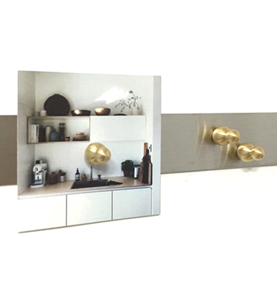 어나더홈 스몰 자석 Anotherhome Magnet Small Brass (2pcs)