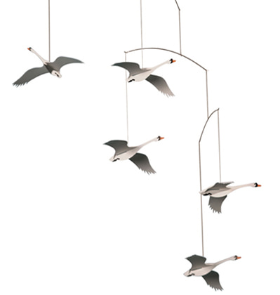 Flensted Mobiles Scandinavian Swans  플렌스테드모빌 백조
