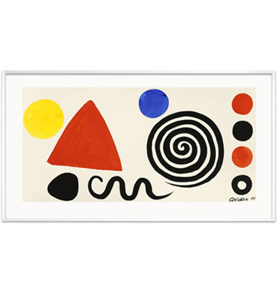 Abstraction, 1966 - Alexander Calder 알렉산더 칼더
