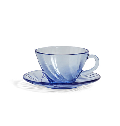 HAY French Coffee Cup With Saucer