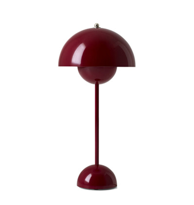 &Tradition FlowerPot VP3 Deep Red