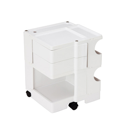 레아크 재팬 데스크탑 웨건 Reac Japan Desk Top Wagon White (Boby Trolly Reproduct)