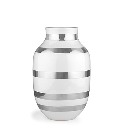 Kahler Omaggio Vase Silver H305 케흘러 오마지오 베이스