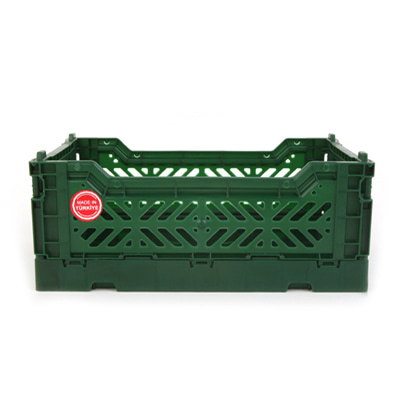 아이까사 폴딩박스 ay-kasa Folding Box Small Dark green