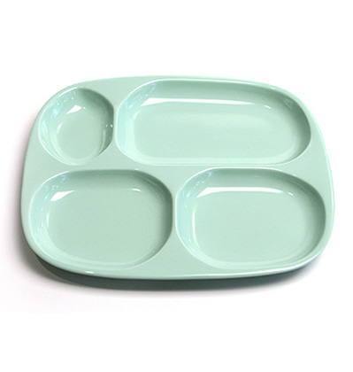 더리빙팩토리 레트로 식판 The Living Factory Retro Divided Tray Mint
