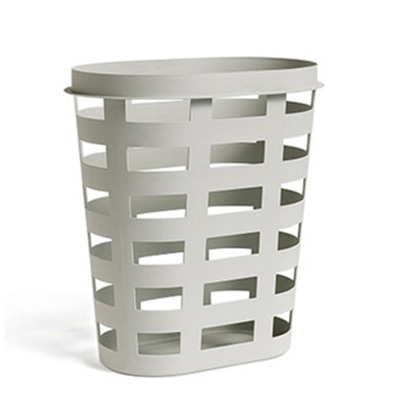 HAY Laundry Basket Large, Light Grey 헤이 런드리 바스켓