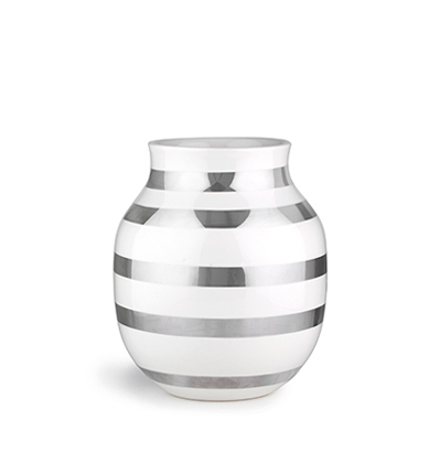 Kahler Omaggio Vase Silver H200 케흘러 오마지오 베이스