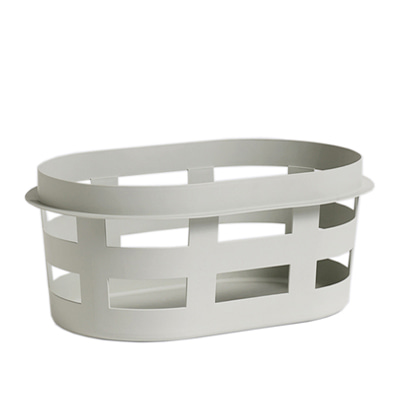 HAY Laundry Basket Small, Light Grey 헤이 런드리 바스켓