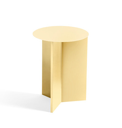 HAY Slit Table High, Light yellow 헤이 슬릿테이블 하이