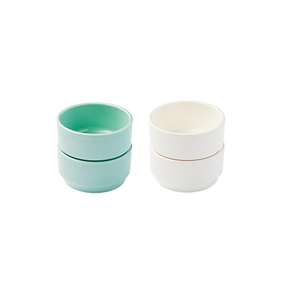 더리빙팩토리 소스보울세트 The Living Factroy Milk&Mint Sauce Bowl set