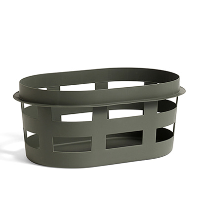 HAY Laundry Basket Small, Army 헤이 런드리 바스켓