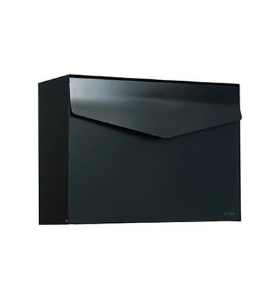 메파 우편함 MEFA Letter Mail Box Jet Black