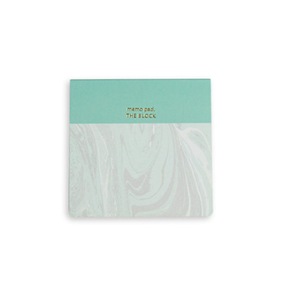 애이블타임 메모지 Abletime Memo Pad The Block Marbling
