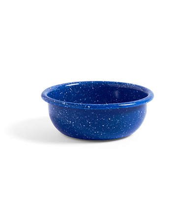 헤이 애나멜 보울 HAY Enamel Bowl Small Dust Blue