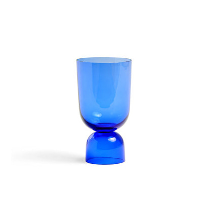 헤이 보텀업 화병 HAY Bottoms Up Vase S Electric Blue
