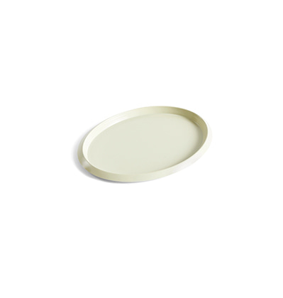헤이 엘립스 트레이 HAY Ellipse Tray S Light Yellow