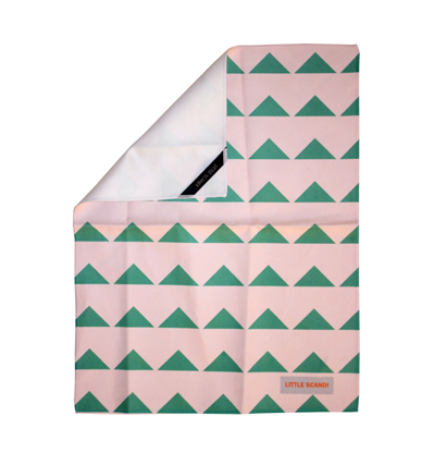 리틀스칸디 핸드타올 Little Scandi Hand Towel Green Hill