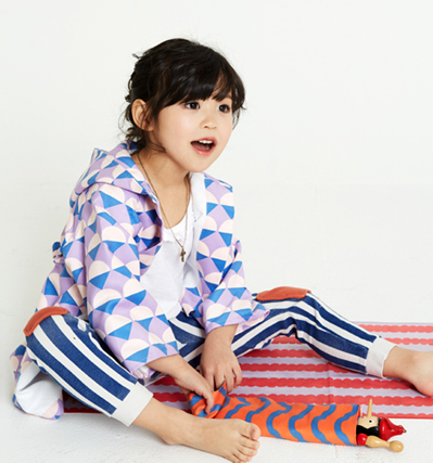 리틀스칸디 유아목욕가운 Little Scandi Bath Robe Cream Cone
