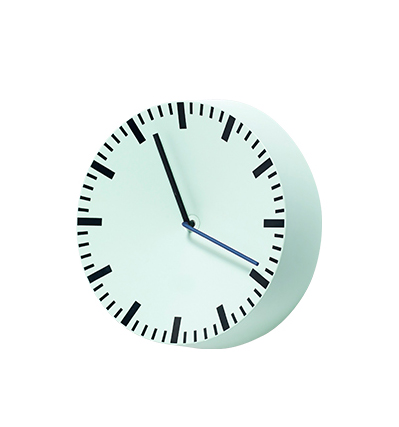 HAY Analog Wall Clock Mint green