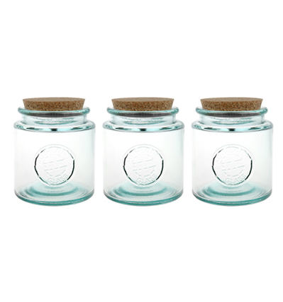 San Miguel Glass canning jar - 800ml 밀폐용기 3개입 세트