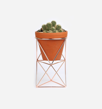 Pot Stand Double - Copper