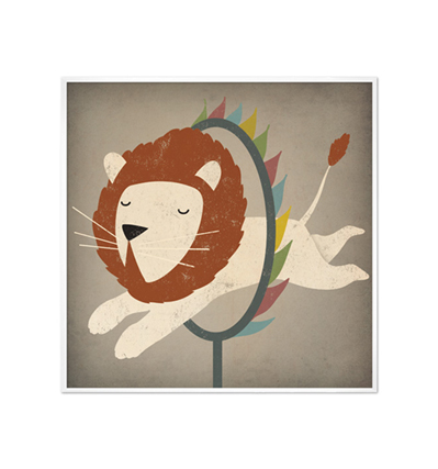Circus Lion by Ryan Fowler