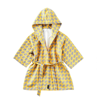 Little Scandi Bath Robe Golden Bird 리틀스칸디  유아목욕가운