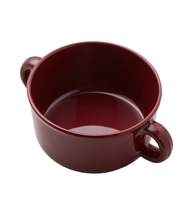 Thelivingfactory Forest Soup Bowl Burgundy 더리빙팩토리 스프 보울