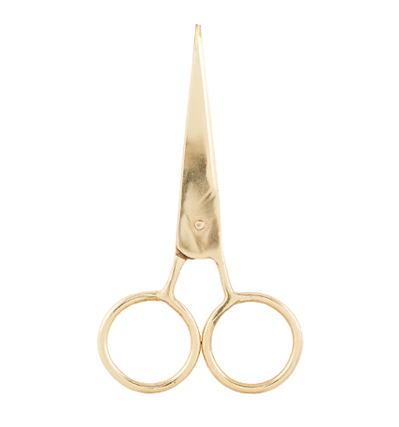 Monograph Scissor Thiny, brass