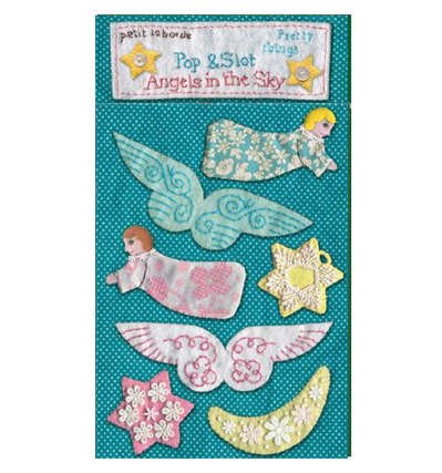 크리스마스 장식카드 로저 라 보디  Roger la borde Angels in the Sky Pop Out Decorations